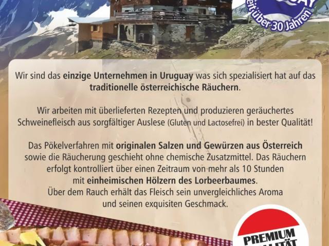 Geräucherte Spezialitäten aus Österreich