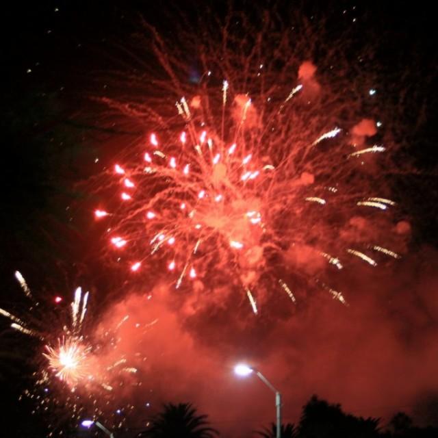 Das große Feuerwerk in Piriapolis